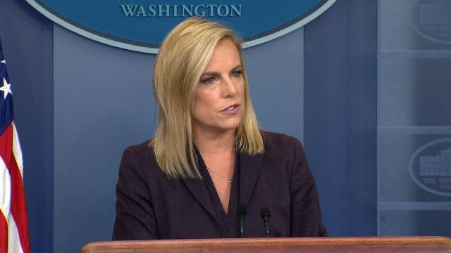 Trump eyes White House replacements for Kelly, Nielsen and others