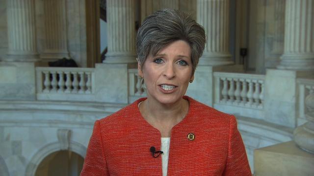 Ernst first female GOP senator elected to Republican leadership ranks since 2009