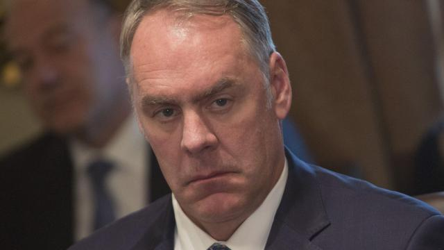 Zinke rips 'radical environmental groups' over California fires