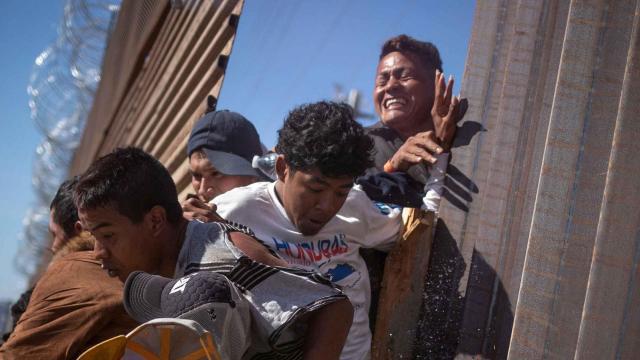 Trump, CBP defend use of tear gas on migrants on the border