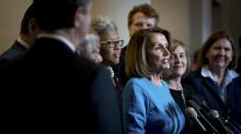 IMAGES: Democrats Resoundingly Nominate Pelosi as Speaker, but Defections Signal Fight Ahead