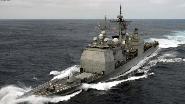US sails warship past contested islands in South China Sea, ahead of G20 summit