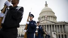 IMAGES: Lawmakers Discuss Deal to Push Back Shutdown Deadline While Mourning Bush