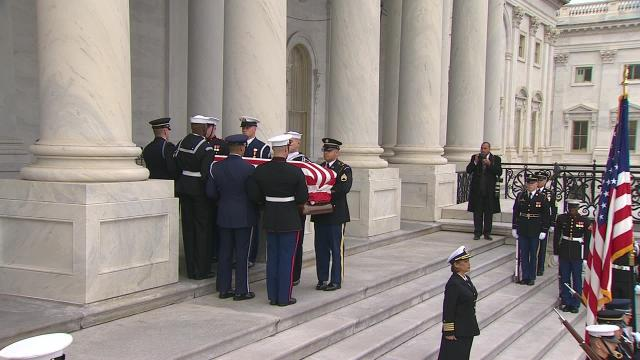 Nation says goodbye to Bush