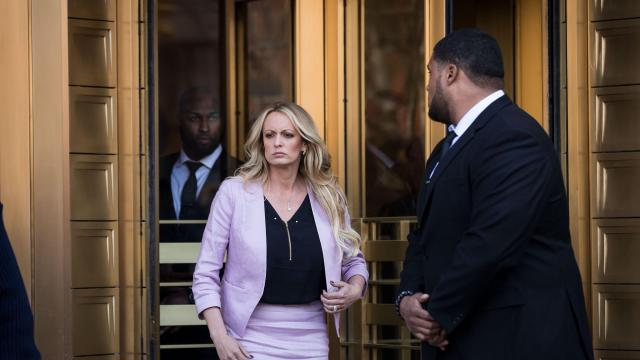 Judge orders Stormy Daniels to pay nearly $300,000 in legal fees to Trump's attorneys in defamation case