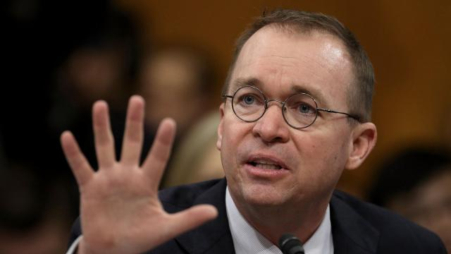 Mick Mulvaney's reluctant acceptance of Donald Trump says A LOT