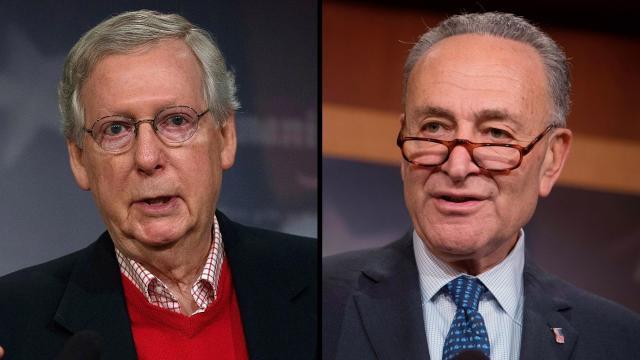 McConnell blocks Senate Democrats' move to reopen government
