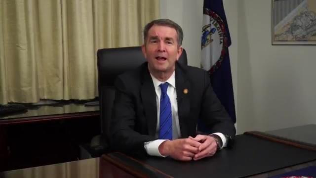 The Richmond Times-Dispatch, the primary daily newspaper in Virginia's capital city, is calling on Democratic Gov. Ralph Northam to resign following the emergence of a racist yearbook photo he appeared in during his time in medical school. (Twitter/@GovernorVA)