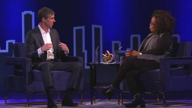 """Former Rep. Beto O'Rourke will decide whether to run for president """"before the end of this month,"""" he told Oprah Winfrey in an interview Tuesday. (CNN)"""