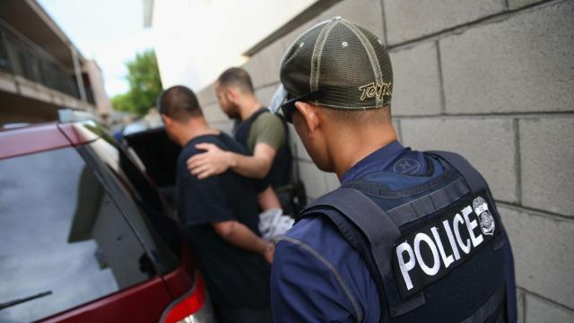 ICE is expected to begin rounding up undocumented immigrants in nine US cities today
