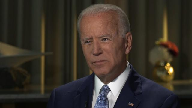 Joe Biden says Trump 'has fanned the flames of white supremacy in this nation'