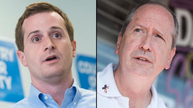 GOP candidate projected to win in North Carolina's 3rd District as votes are tallied in state's other closely watched race