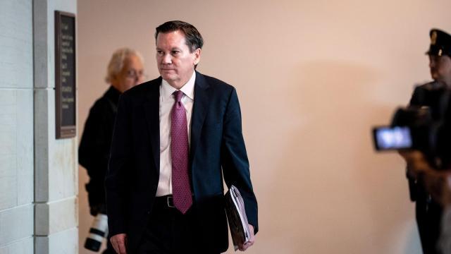 Impeachment Investigators Question Intelligence Watchdog About Whistleblower