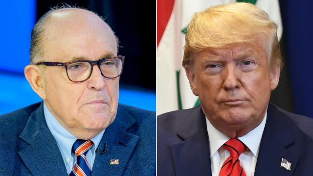 Rudy Giuliani is still Trump's attorney but won't deal with Ukraine matters, source says