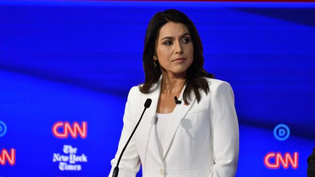 Hillary Clinton suggests Russians are 'grooming' Tulsi Gabbard for third-party run
