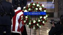 IMAGES: Elijah Cummings lies in state at the Capitol