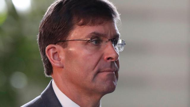 Defense Secretary Mark Esper: Baghdadi's death is a 'devastating blow' to ISIS