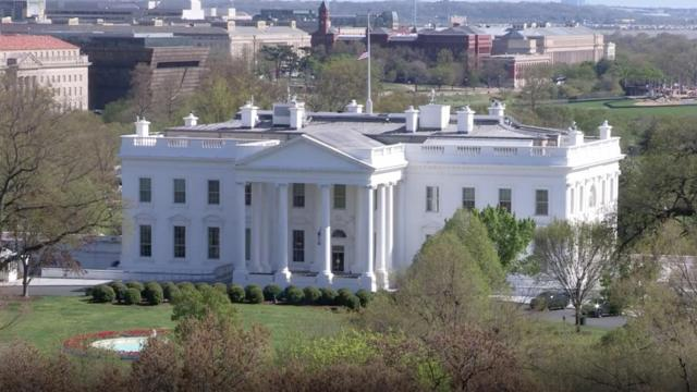 'Slow-moving blob' that may have been a flock of birds caused White House lockdown