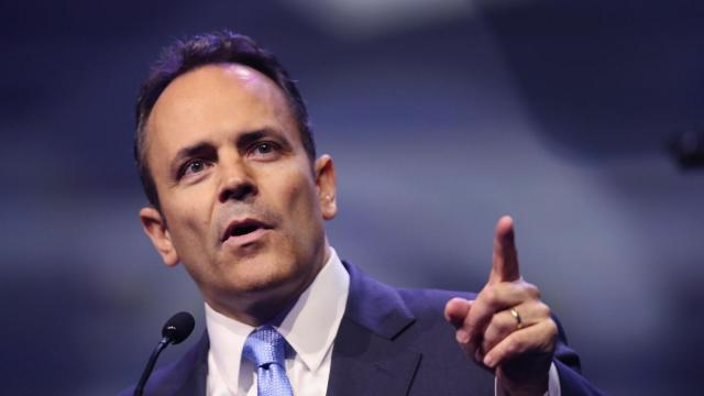 Former Kentucky governor issued hundreds of pardons and commutations before leaving office this week