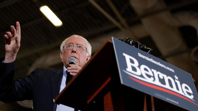 Bernie Sanders' $34.5 million haul leads Democrats' 4th quarter totals so far