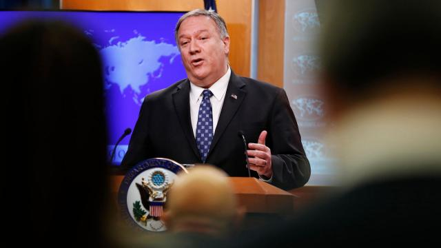 Pompeo dismisses Iraqi request to work on plan to withdraw US troops