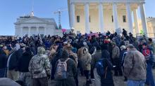 IMAGES: Virginia gun-rights rally concludes peacefully despite earlier fears of extremist violence
