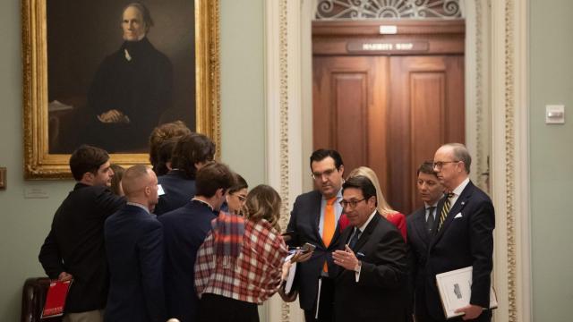 Senate impeachment trial: Trump's defense team makes their case