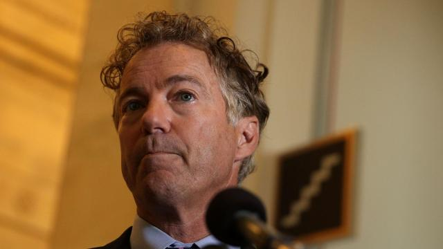 John Roberts publicly rejects Rand Paul's whistleblower question in Senate impeachment trial