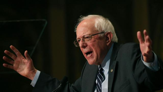 Joe Biden goes there against Bernie Sanders