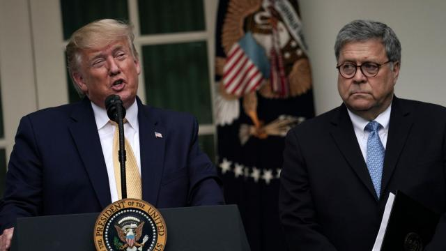 Barr has said he's considered resigning over Trump's interference in Justice Department matters, source says
