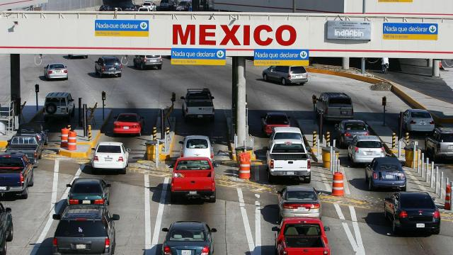 Trump administration limits non-essential travel between US and Mexico