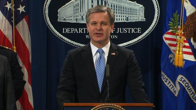 FBI Director Wray comes under renewed Trump scrutiny after Justice Department drops Flynn's case