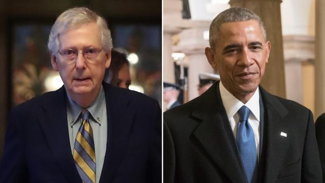 McConnell admits he was wrong to say Obama administration failed to leave a pandemic playbook