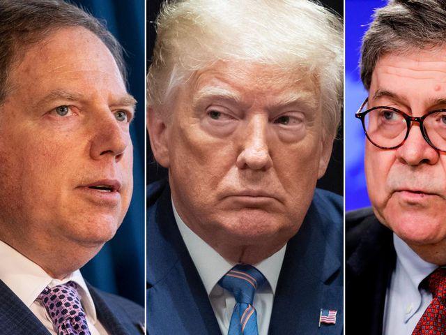 Trump on firing of Geoffrey Berman: 'I'm not involved'
