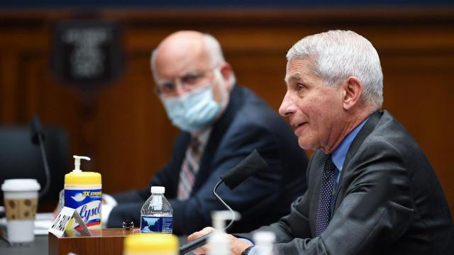Fauci and Redfield testifying in Senate as states struggle to contain coronavirus