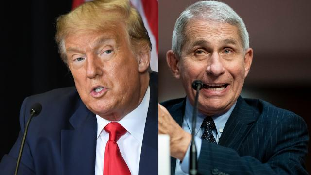 White House takes aim at Fauci but Trump has no current plans to fire him, source says