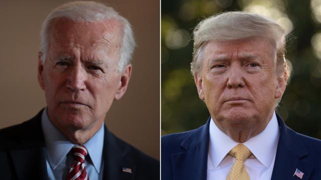 Biden calls Trump's 'hurt God' attack 'shameful'