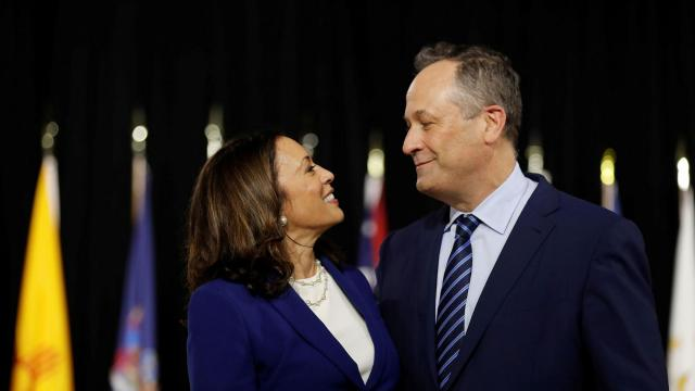 Harris' husband Emhoff celebrates 'beautiful life' with VP nominee in 6th anniversary message