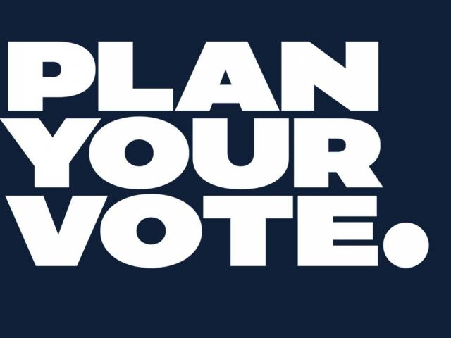 WRAL-NBC News Plan Your Vote graphic