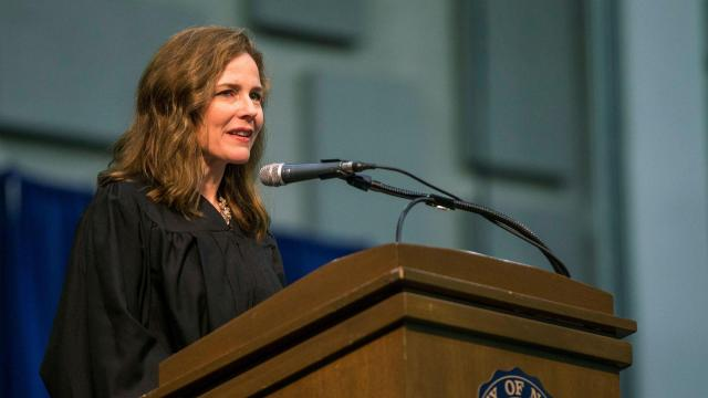 Sources: Trump intends to nominate Amy Coney Barrett for Supreme Court