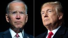 IMAGE: Fact-checking first debate between Trump, Biden