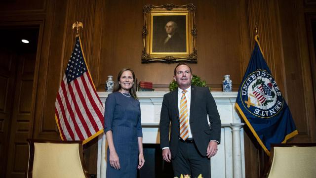 GOP senators on Judiciary panel test positive for Covid-19 days after Trump's Rose Garden Supreme Court announcement