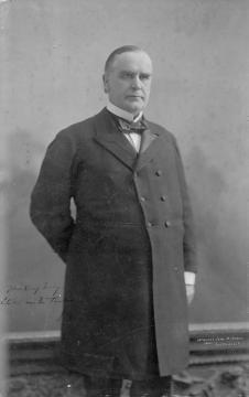 William McKinley, by John H Ryder