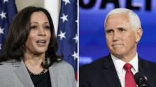 IMAGES: 5 questions as Pence and Harris prepare for debate faceoff