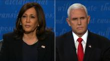 IMAGES: Coronavirus looms over vice presidential debate as Pence and Harris clash over Trump's response