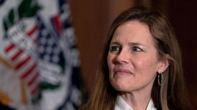 Amy Coney Barrett initially failed to disclose talks on Roe v. Wade hosted by anti-abortion groups on Senate paperwork