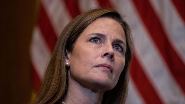 Amy Coney Barrett stresses late Justice Scalia's influence in opening statement to Senate