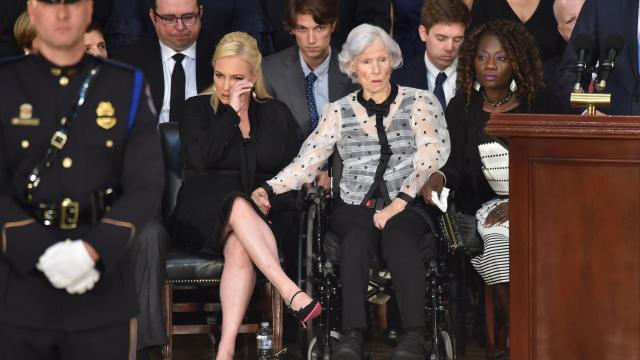 John McCain's mother, Roberta, dies at 108