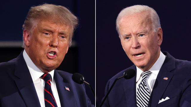 Trump and Biden focus on coronavirus as last presidential debate begins