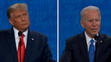 IMAGES: Fact-checking the final presidential debate, from health care to immigration to coronavirus